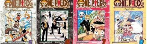 One Piece 1-10 Manga Sayıları