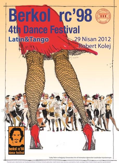 4. Berkol RC'98 Dans Festivali – 2012
