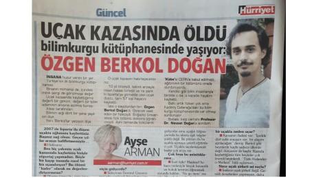 Hürriyet Gazetesinde Yayınlanan Röportajımız