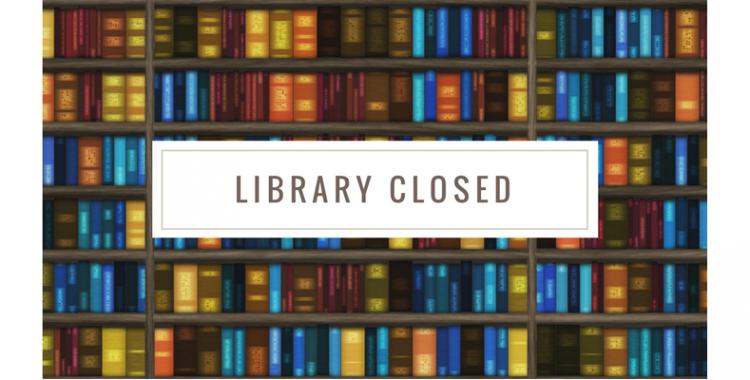 30 Ağustos Kütüphanemizin Kapalı Olması Hk.
