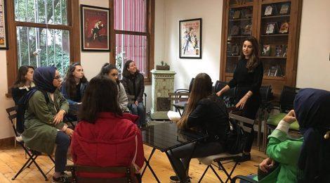 Kadıköy Teknik Meslek Lisesi Kütüphanemizi Ziyaret Etti
