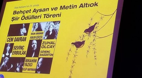 Behçet Aysan ve Metin Altıok Şiir Ödülleri Töreni