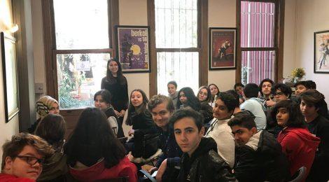 Atakent Uğur Lisesi Kütüphanemizi Ziyaret Etti