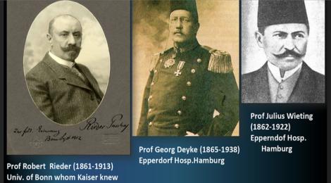 Almanca Konuşan Biliminsanlarının Türk Tıbbına Katkıları